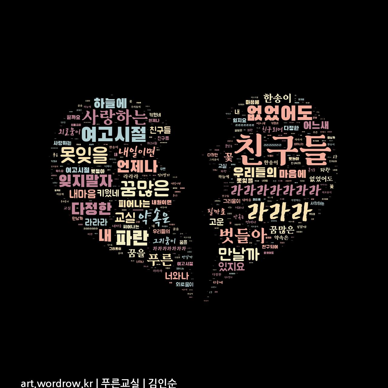 워드 아트: 푸른교실 [김인순]-71